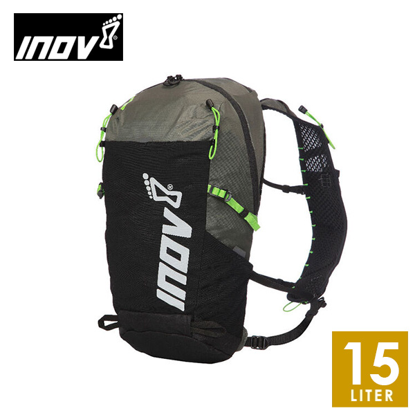 INOV8 イノヴェイト ADVENTURE LITE 15 メンズ・レディース ザック・バックパック・リュック(15L) NOAPGA03BG 【トレイルランニング/トレラン/イノベイト/登山/アウトドア】 NOAPGA03BG