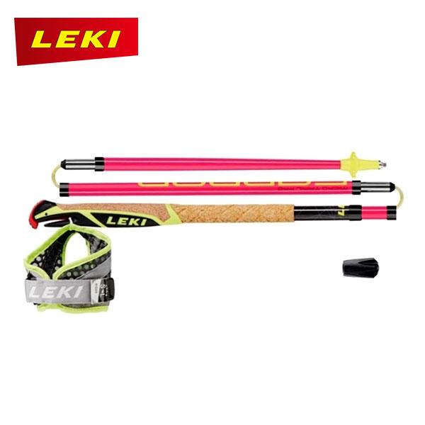 LEKI(レキ) マイクロトレイルプロ ロンググリップ仕様モデルのトレイルランニング・ポール 【トレッキングポール/トレイルランニング/登山/ハイキング】