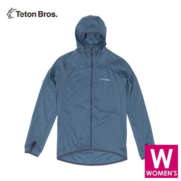 ティートンブロス レディース フルジップ パーカー ジャケット トレイルランニング・ウェア Teton Bros WS Wind River Hoody TB20119011 【トレイルラン/トレラン/ランニング/マラソン/トレッキング/ウェア】