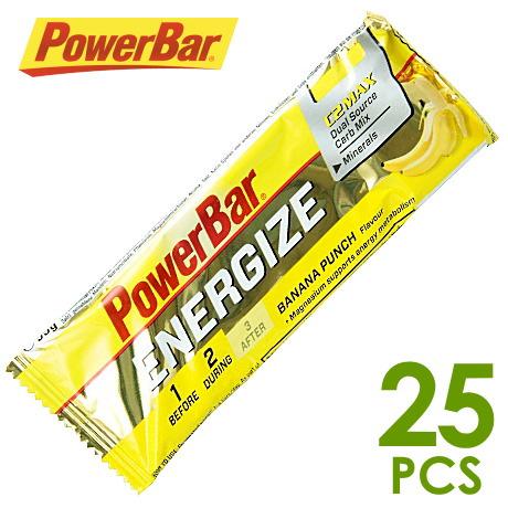 パワーバー PowerBar エナジャイズ バナナパンチ味25個セット パワーバー エナジャイズ エネルギー補給食 パワーバー エナジャイズ トレイルランニング パワーバー エナジャイズ