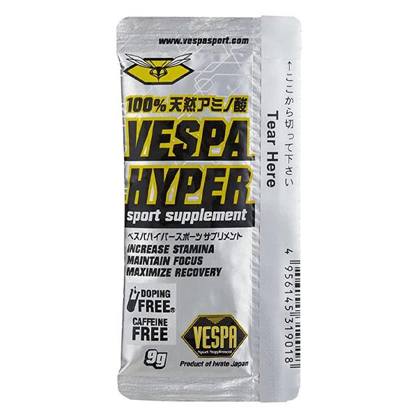平日 月曜除く 昼12時までの注文で即日出荷 VESPA ベスパ ハイパー 行動食 トレイルランニング 100%天然アミノ酸 在庫一掃売り切りセール 補給食 エネルギー補給 毎日がバーゲンセール