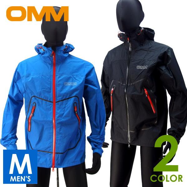 OMM オリジナルマウンテンマラソン Aether Jacket フルジップ パーカー(ハードシェル) トレイルランニング ウェア OC050
