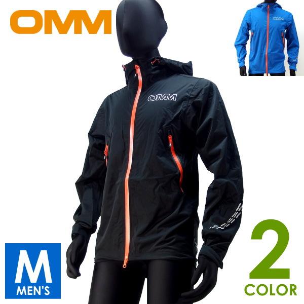 OMM オリジナルマウンテンマラソン Kamleika RaceJacket II メンズ フルジップパーカー トレイルランニング ウェア 防水浸透性ソフトシェル