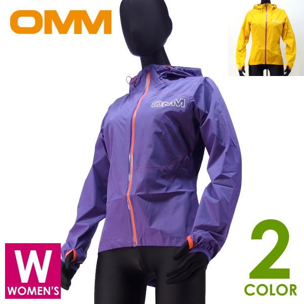 OMM オリジナルマウンテンマラソン Aeon Jacket レディース フルジップパーカー トレイルランニング ウェア 防水レインウェア