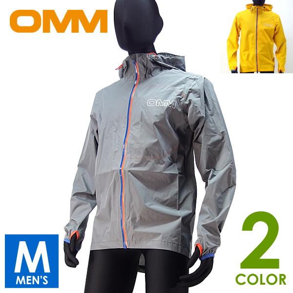 OMM オリジナルマウンテンマラソン Aeon メンズ Jacket メンズ フルジップパーカー Jacket トレイルランニング ウェア Aeon 防水レインウェア, e.alamode(イーアラモード):cdefe52d --- officewill.xsrv.jp
