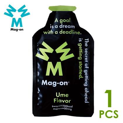 Mag-on マグオン エナジージェル 梅フレーバー×1個 トレイルランニング 補給食、行動食、エネルギー補給
