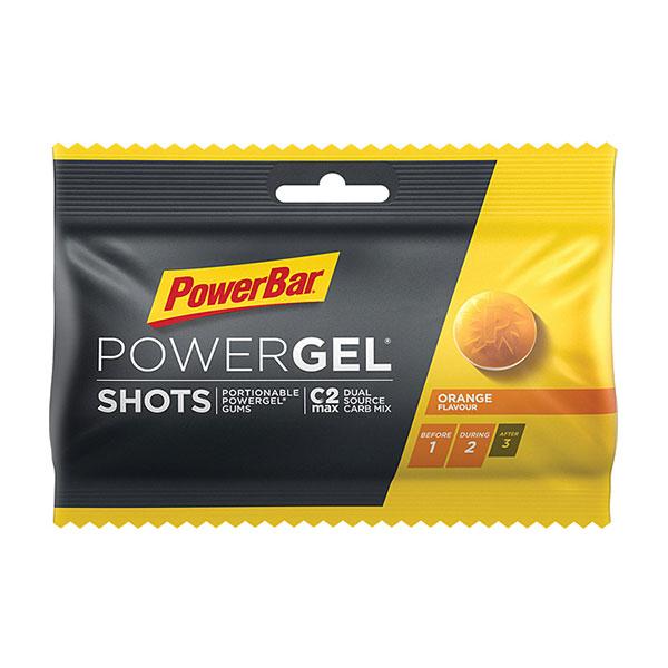 あす楽 平日 月曜除く 昼12時までの注文で即日出荷 PowerBar パワーバー PowerGel Shots 補給食 グミ5粒でパワージェル1本分のエネルギー ショッツ 行動食 トレイルランニング 返品不可 驚きの価格が実現 パワージェル オレンジ