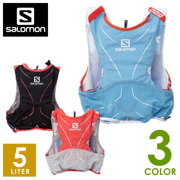 【サロモン/SALOMON】S-LAB ADV SKIN 5SET メンズ・レディース リュック・ザック・バックパック(5L) トレイルランニング L37162300