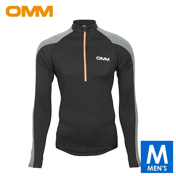 OMM オリジナルマウンテンマラソン Vector Zip メンズ ハーフジップ長袖シャツ トレイルランニング ウェア OC081