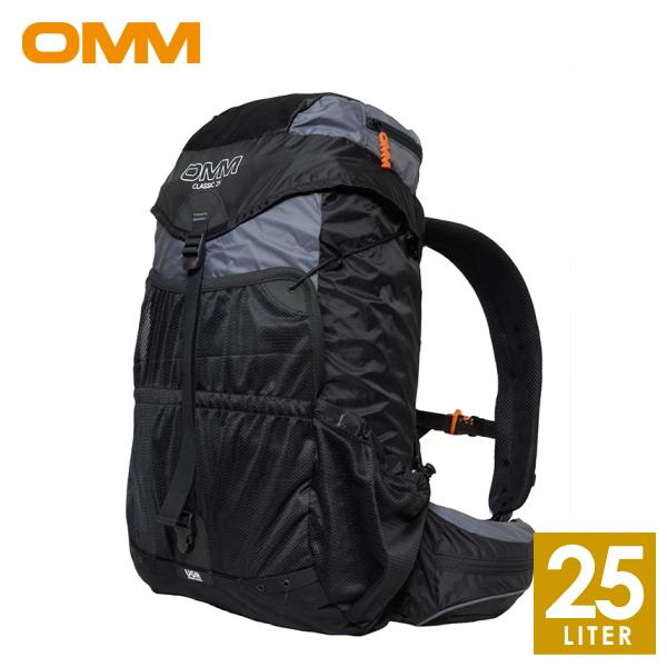 OMM オリジナルマウンテンマラソン Classic 25 Black Edition メンズ・レディース リュック・ザック・バックパック(25L) トレイルランニング OF002