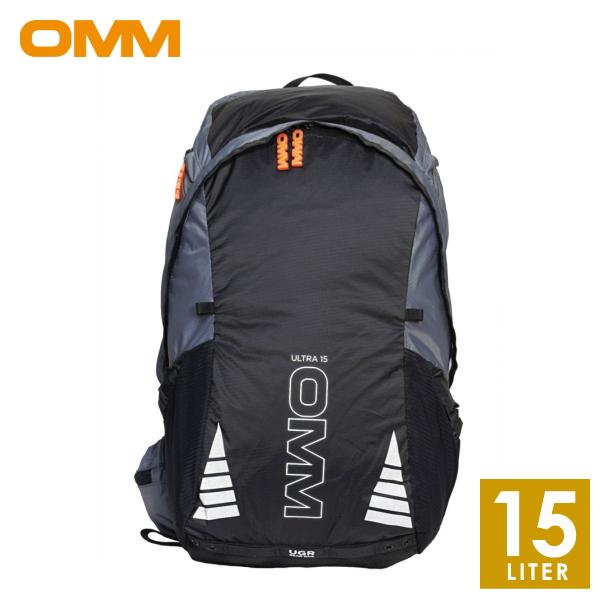 OMM オリジナルマウンテンマラソン Ultra15 BlackEdition メンズ・レディース リュック・ザック・バックパック(15L) トレイルランニング リュック OF014