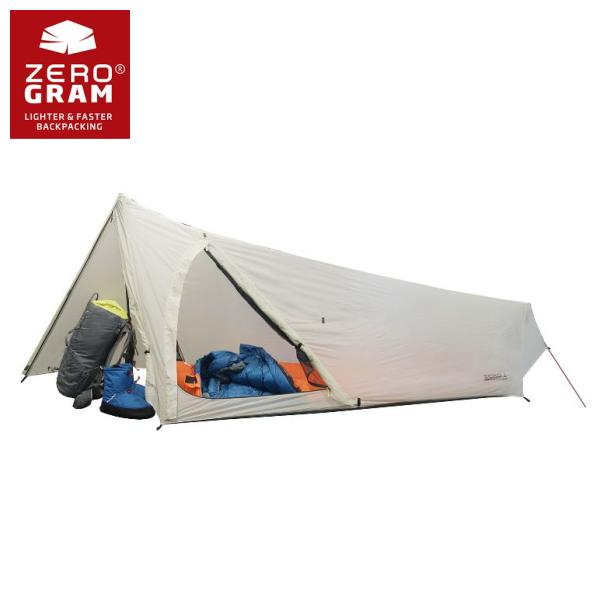 ZEROGRAM ゼログラム ZERO1 Pathfinder Tent 前室一体型で悪天候に強いULソロテント ウルトラライト アウトドア
