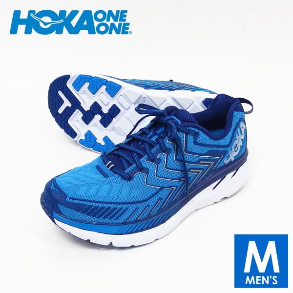 HOKA one one(ホカ オネオネ) メンズ ランニングシューズ CLIFTON 4(クリフトン 4) 106723 トレラン、靴