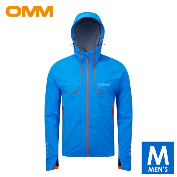 OMM オリジナルマウンテンマラソン Kamleika Jacket メンズ フルジップ防水透湿ジャケット トレイルランニング ウェア OC035BL