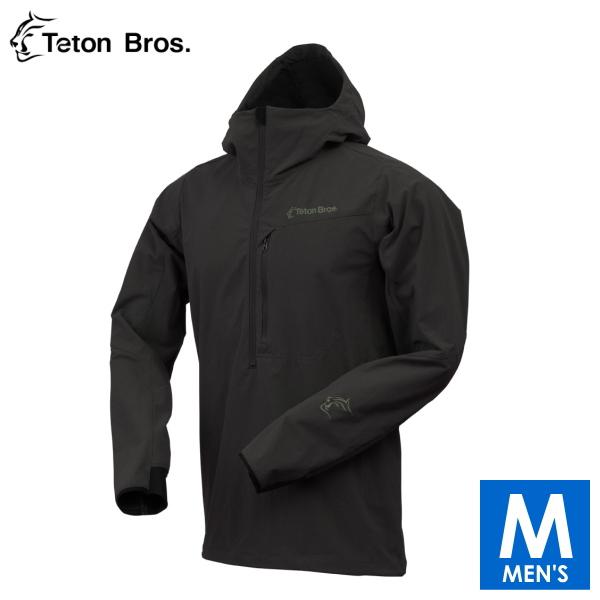 ティートンブロス メンズ ハーフジップ ソフトシェルパーカー トレイルランニング・ウェア Teton Bros Long Trail Anorak TB17322030 【トレイルラン/トレラン/ランニング/マラソン/トレッキング/ウェア】