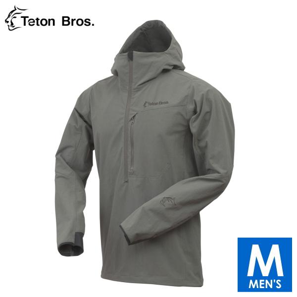 ティートンブロス メンズ ハーフジップ ソフトシェルパーカー トレイルランニング・ウェア Teton Bros Long Trail Anorak TB17322040 【トレイルラン/トレラン/ランニング/マラソン/トレッキング/ウェア】