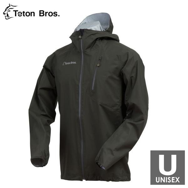 ティートンブロス メンズ・レディース フルジップジャケット トレイルランニング・ウェア Teton Bros Feather Rain Full Zip Jacket TB18101012 【トレイルラン/トレラン/ランニング/マラソン/トレッキング/ウェア】
