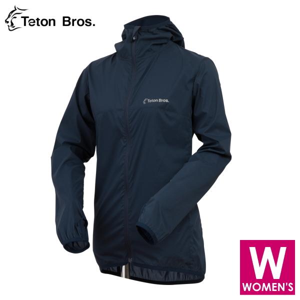 ティートンブロス レディース フルジップ フーディジャケット トレイルランニング・ウェア Teton Bros WS Wind River Hoody TB18118011 【トレイルラン/トレラン/ランニング/マラソン/トレッキング/ウェア】