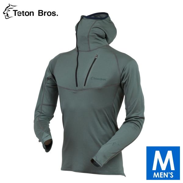ティートンブロス メンズ ポラーテックパワーウール ロングシャツ トレイルランニング・ウェア Teton Bros Power Wool MW Hoody TB18125010 【トレイルラン/トレラン/ランニング/マラソン/トレッキング/ウェア】