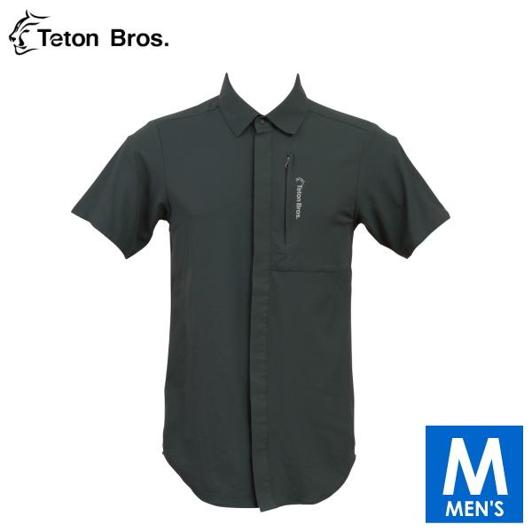 ティートンブロス メンズ ランニングに使えるシャツ トレイルランニング・ウェア Teton Bros Run Shirt TB18165040 【トレイルラン/トレラン/ランニング/マラソン/トレッキング/ウェア】