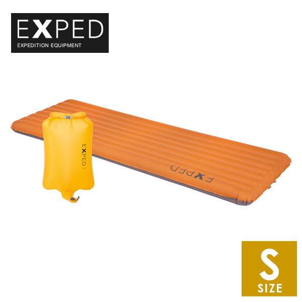 EXPED(エクスペド) SynMat UL S エア式の中綿入りスリーピングマット トレイルランニング