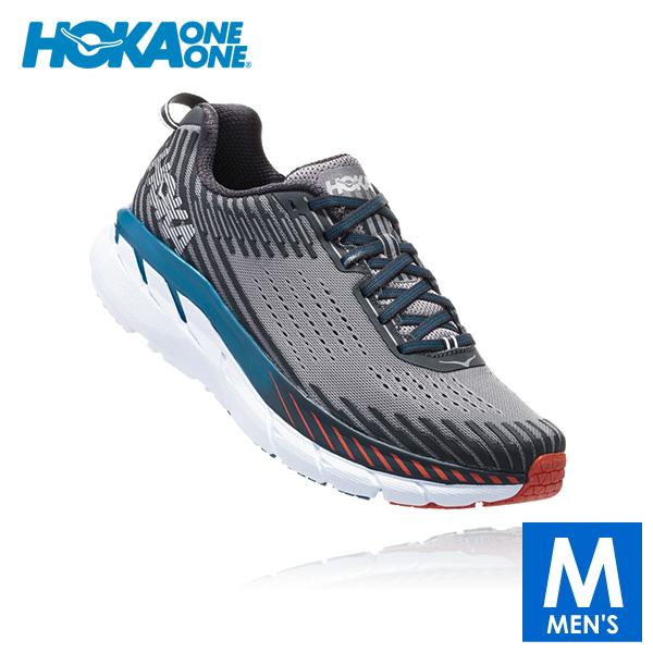 HOKA one one(ホカ オネオネ) メンズ ランニングシューズ CLIFTON 5(クリフトン 5) 1093755 【トレイルランニングシューズ/トレイルラン/トレラン/靴】