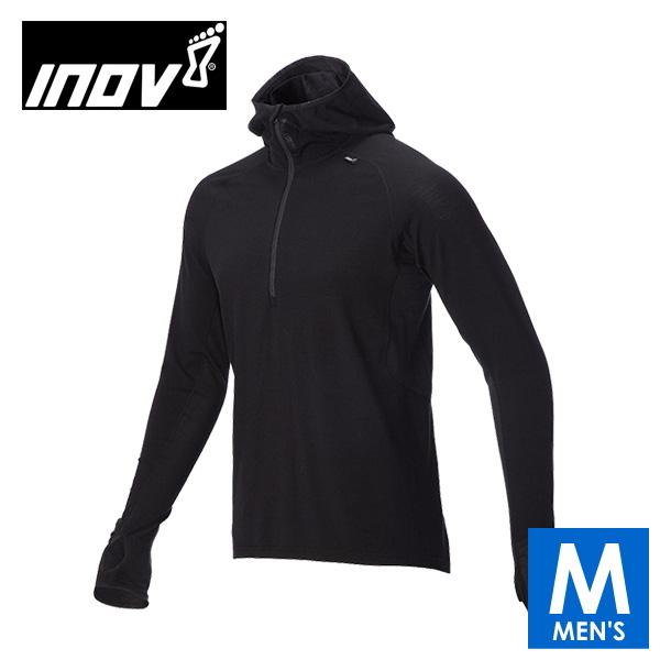 INOV8 イノヴェイト AT C MERINO LSZ M メンズ ハーフジップ フーディ 長袖シャツ IVC2755MB トレイルランニング イノベイト IVC2755MB