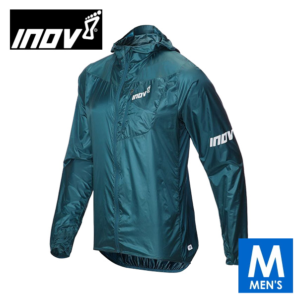 INOV8 イノヴェイト AT/C WINDSHELL FZ M メンズ フルジップ ウインドシェルジャケット NOMMIK02B トレイルランニング イノベイト NOMMIK02B