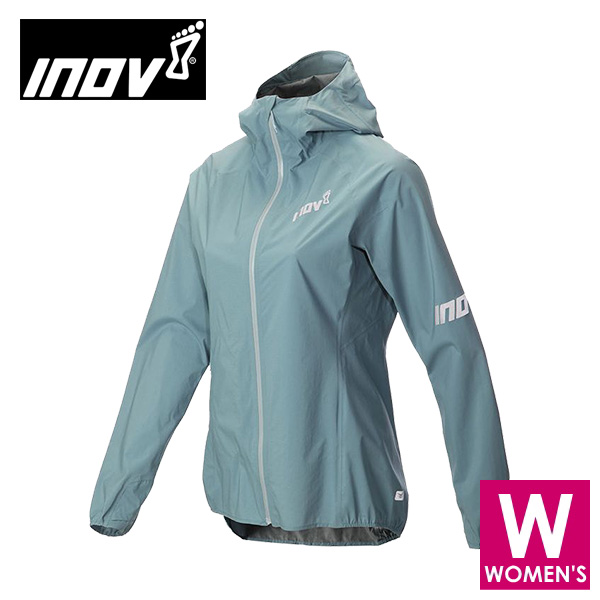 INOV8 イノヴェイト AT/C STORMSHELL FZ W レディース フルジップ シャルジャケット NOWMIK01B トレイルランニング イノベイト NOWMIK01B