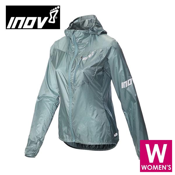 INOV8 イノヴェイト AT/C WINDSHELL FZ W レディース フルジップ フーディ ウインドシェルジャケット NOWMIK02B トレイルランニング イノベイト NOWMIK02B