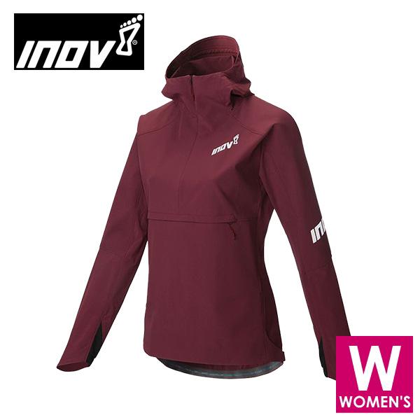 INOV8 イノヴェイト AT/C SOFT SHELL HZ レディース ハーフジップ フーディ ジャケット NOWMK04PP トレイルランニング イノベイト NOWMK04PP