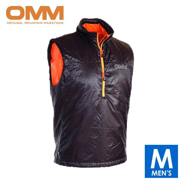OMM オリジナルマウンテンマラソン ROTER VEST メンズ ハーフジップ ノースリーブ ベスト トレイルランニング ウェア OC070BLA