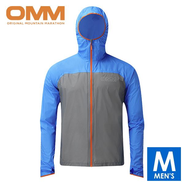 OMM オリジナルマウンテンマラソン HALO JACKET メンズ フルジップ フーディー ジャケット トレイルランニング ウェア OC092BLG