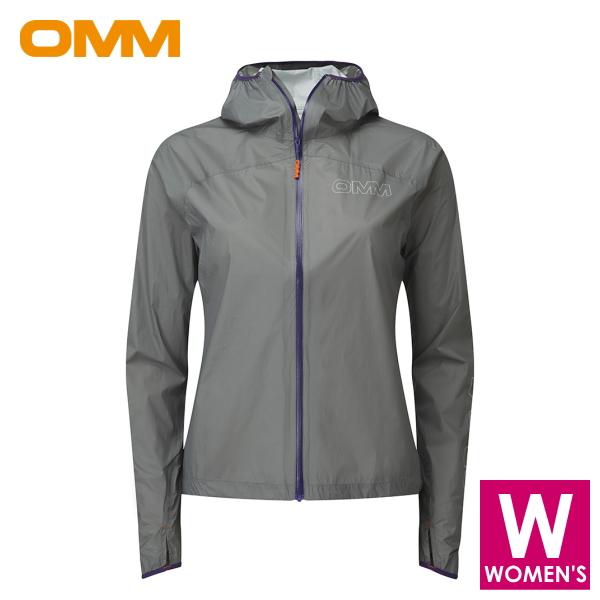 OMM オリジナルマウンテンマラソン Halo Jacket (w) レディース フルジップ シェルジャケット トレイルランニング ウェア OC093