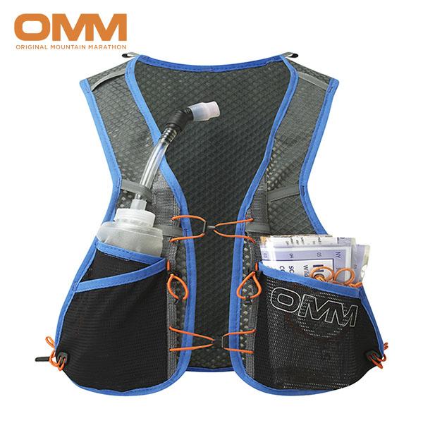 OMM オリジナルマウンテンマラソン Trailfire Vest メンズ・レディース レースベスト トレイルランニング バック OF035-BL