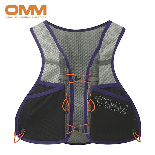 OMM Unisex Compressor Pod Running Grey//Black