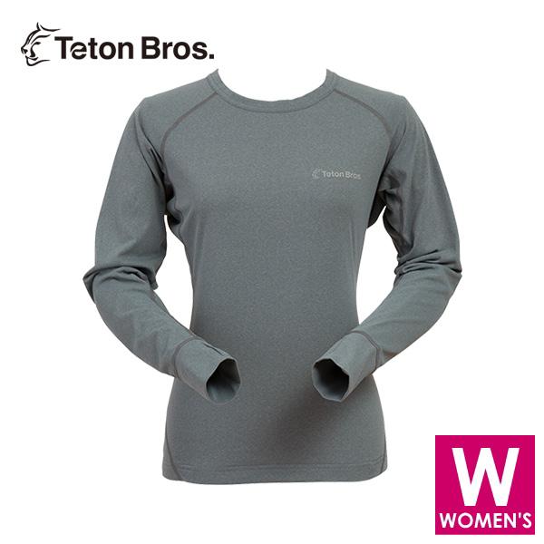 ティートンブロス レディース 長袖シャツ トレイルランニング・ウェア Teton Bros WS Power Wool MW L/S Tee (Women) TB18128011 【トレイルラン/トレラン/ランニング/マラソン/トレッキング/ウェア】