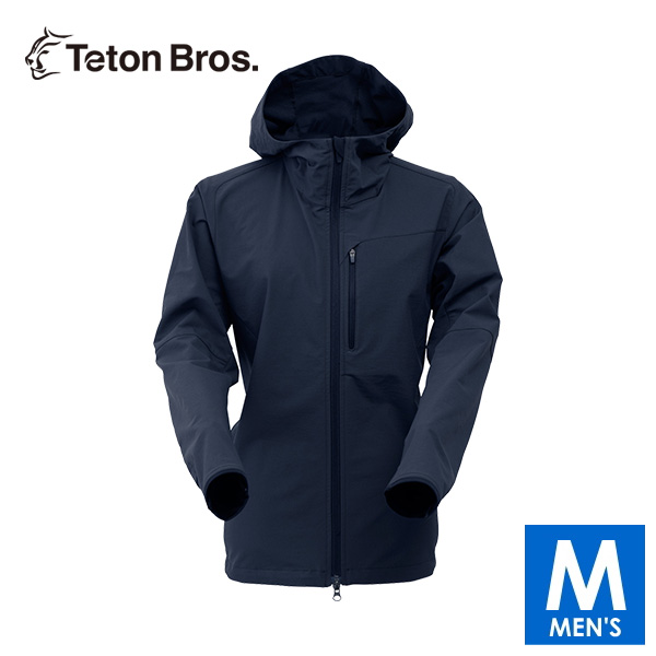 ティートンブロス メンズ フルジップ フーディージャケット トレイルランニング・ウェア Teton Bros Long Trail Hoody TB18327010 【トレイルラン/トレラン/ランニング/マラソン/トレッキング/ウェア】