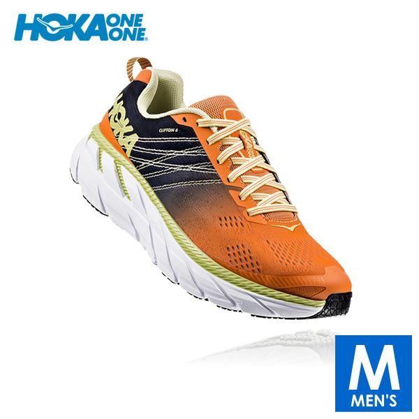 HOKA one one(ホカ オネオネ) メンズ ロード ランニングシューズ CLIFTON 6(クリフトン6) 1102872 【ランニング/ジョギング/トレーニング/フィットネスジム/靴】