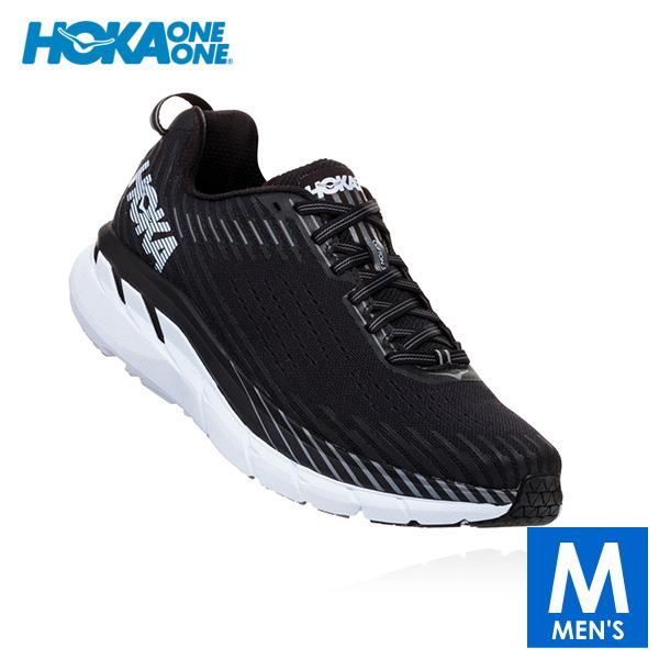 HOKA one one(ホカ オネオネ) メンズ ロード ランニングシューズ CLIFTON 5 WIDE Men(メンズ クリフトン 5 ワイド) 1093757 【トレイルランニングシューズ/トレイルラン/トレラン/靴】