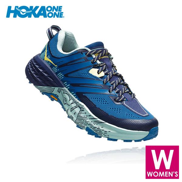 HOKA one one(ホカ オネオネ) レディース トレイルランニング シューズ SPEEDGOAT 3 Women(ウィメンズ ウィメンズ スピードゴート 3) 1099734 【トレイルランニングシューズ/トレイルラン/トレラン/靴】