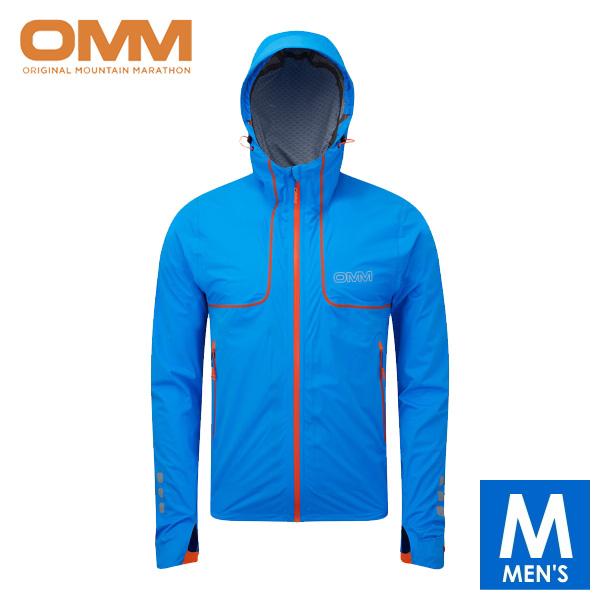 OMM オリジナルマウンテンマラソン Kamleika Jacket メンズ フルジップ防水透湿ジャケット 【トレイルランニング/トレラン/ジョギング/アウトドア/自転車/ウェア/アウター】 oc094bl
