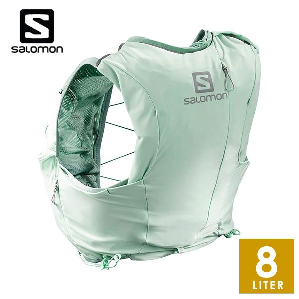 【サロモン/SALOMON】ADV SKIN 8 SET W レディース ザック・バックパック・リュック(8L) 【トレイルランニング/トレラン】 LC10897