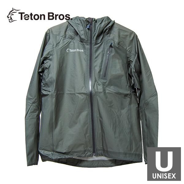 ティートンブロス メンズ・レディース フルジップ ジャケット トレイルランニング・ウェア Teton Bros Feather Rain Full Zip Jacket 2.0 TB19101022 【トレイルラン/トレラン/ランニング/マラソン/トレッキング/ウェア】
