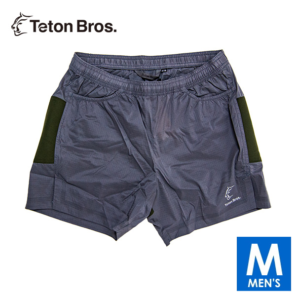 ティートンブロス メンズ ショートパンツ トレイルランニング・ウェア Teton Bros ELV1000 5in Hybrid Short TB19160040 【トレイルラン/トレラン/ランニング/マラソン/トレッキング/ウェア】