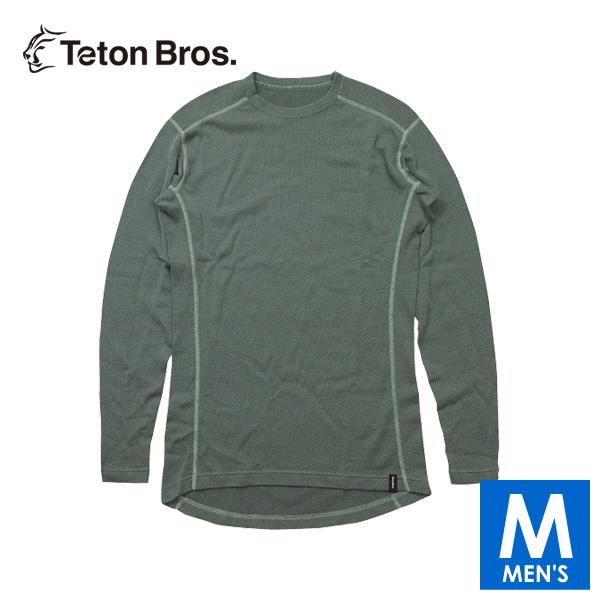 ティートンブロス メンズ 長袖ベースレイヤー トレイルランニング・ウェア Teton Bros MOB Wool L/S (Men) TB19368020 【トレイルラン/トレラン/ランニング/マラソン/トレッキング/ウェア】