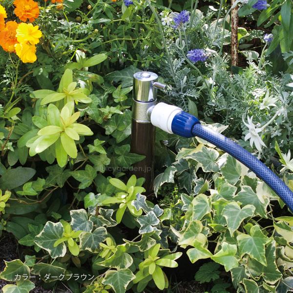 【立水栓】【水栓柱】ホース接続専用の水栓柱「ジラーレS 散水用水栓柱」【送料無料】