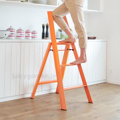 脚立 踏み台 ステップ 「lucano 3step ルカーノ スリーステップ」 【送料無料】 3段タイプ Step stool METAPHYSデザイン 新築祝い ギフト