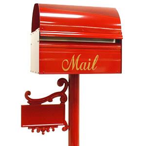 【ポスト スタンド セット】 「レターボックスマン3091 NPポール付き」 スタンド一体型 郵便ポスト おしゃれ スタンドタイプ おしゃれな 玄関ポスト スタンドポスト 郵便受け 自立式 ポール