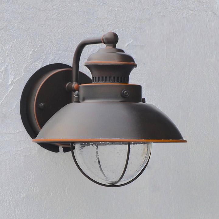 【外灯】【街灯】【エクステリアライト】【照明】「アンティークライト V-1581BBZLD (LED) バーニッシュブロンズ」